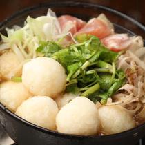 秋田郷土料理「だまこ鍋」
