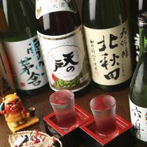 厳選した秋田地酒もご用意しております。
