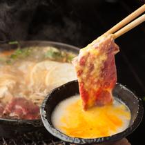 名物「歌麿鍋」で明日への精力UP♪