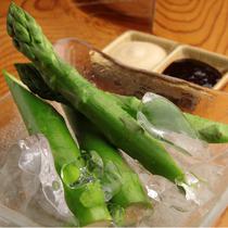 旬を味わえる 新鮮な野菜のご用意もございます。