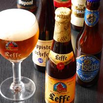 品川随一の品揃え♪40種類のベルギービールをご堪能