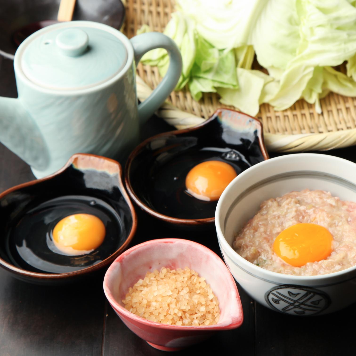 ザラ飴で作るすき焼き