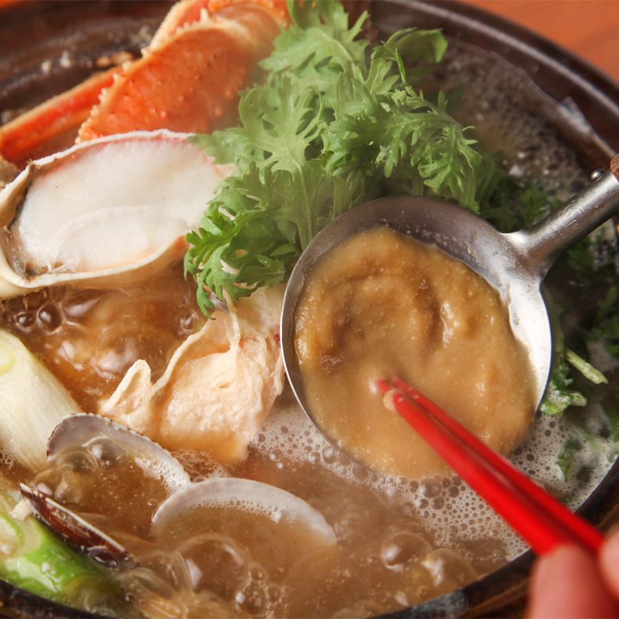 蟹 味噌ちゃんこ