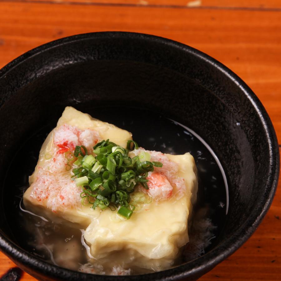 カニ味噌の揚げ出し豆腐
