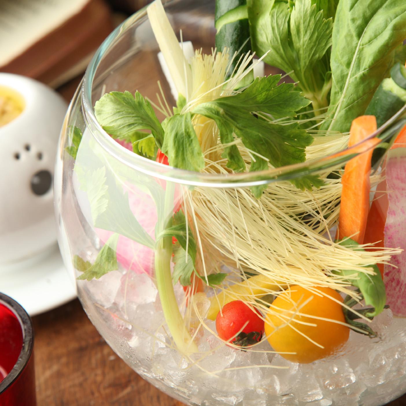 旬の野菜のフォレストバーニャカウダ