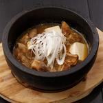 石焼もつ煮豆腐