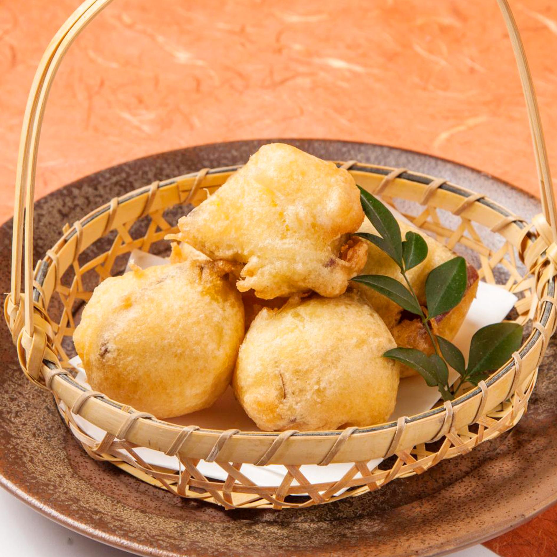 さつま芋のフリット ハニーバターソース