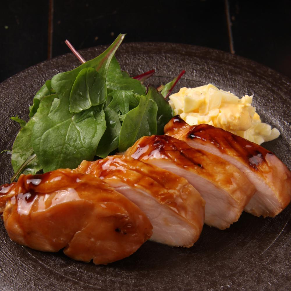鶏胸肉のテリヤキ 自家製タルタル添え