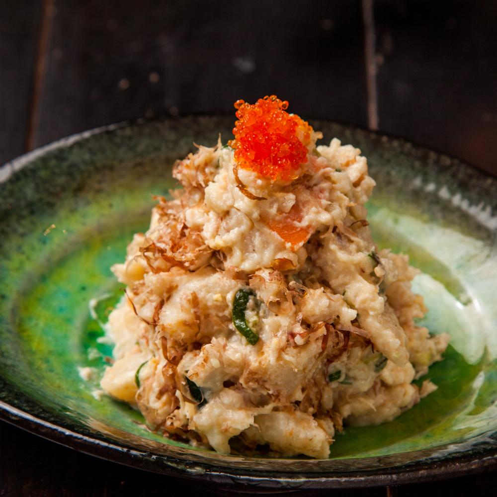 五島風ポテトサラダ(鰹節入り 醤油マヨ)