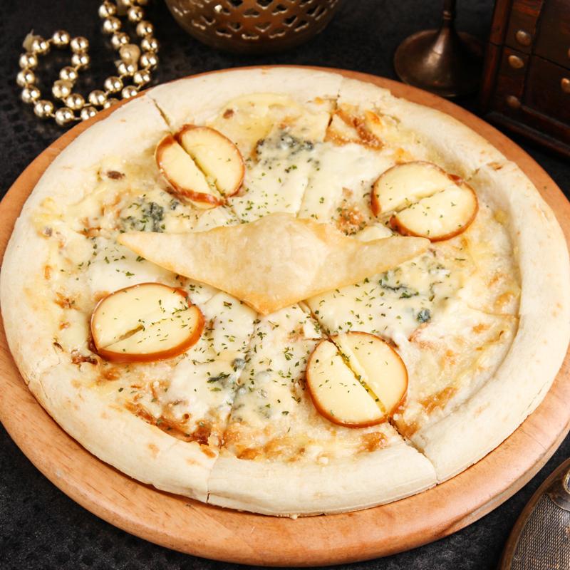 大海原への指針 4種のチーズピザ