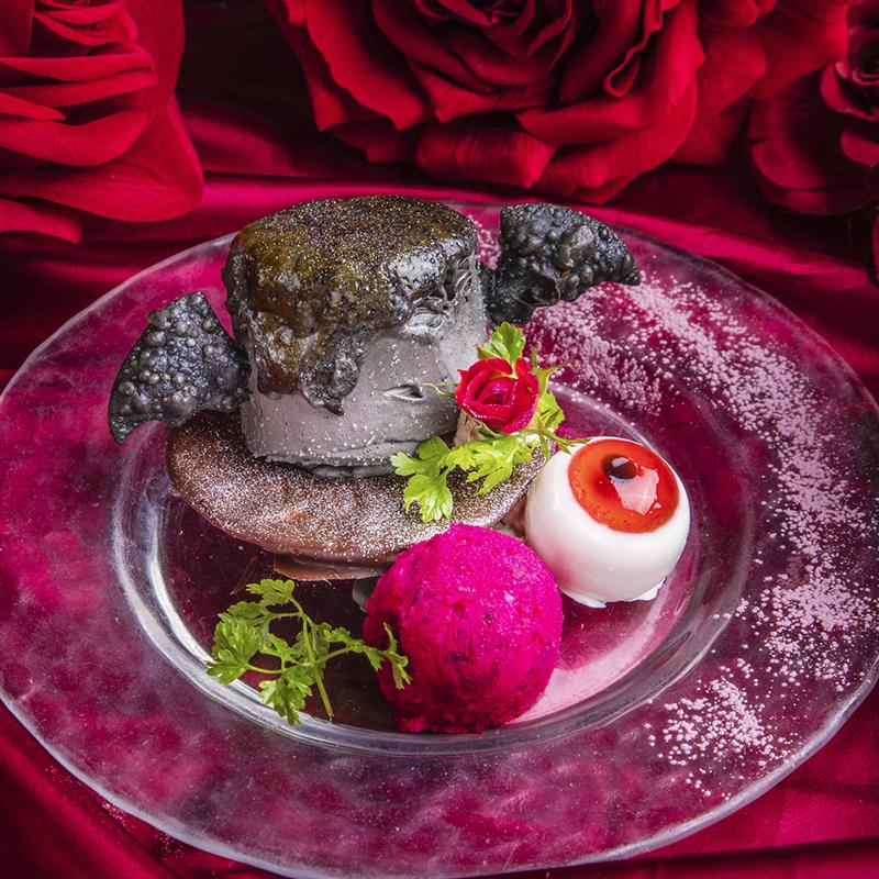 悪しき伯爵の薔薇帽子~チョコとナッツのカタラーナ~