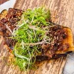 高知県仁淀川産 香り山椒 藁焼き鰹の麻辣茄子