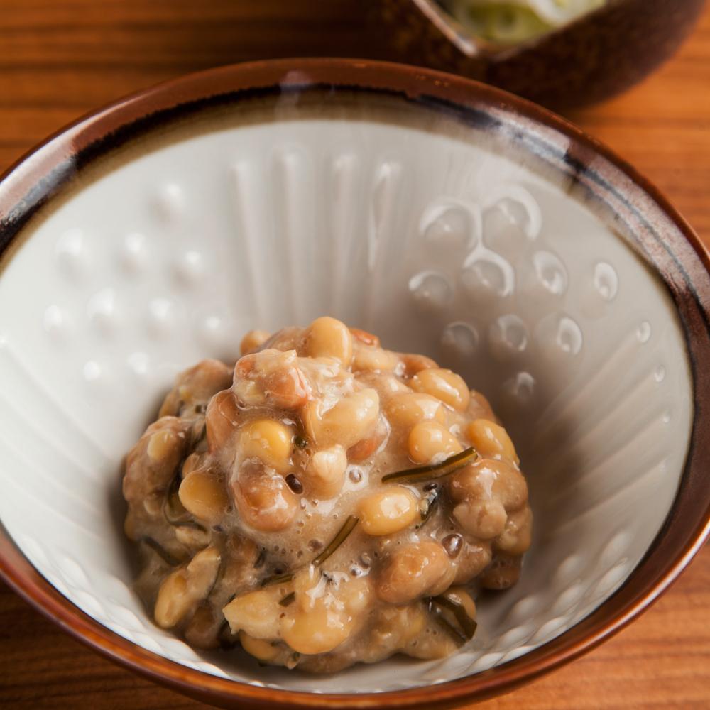 醤納豆と柴崎納豆
