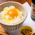 YTKG(ゆず卵かけご飯)