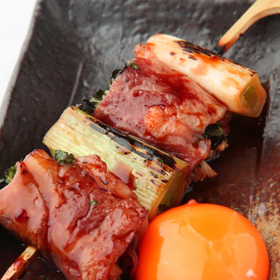 牛バラと豆腐のすき焼き串