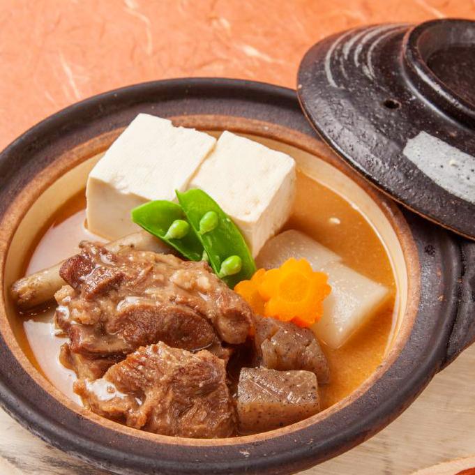 仙台名物牛タン味噌煮込み豆冨