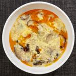 ふわふわ卵サンラースープ