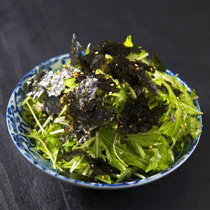 海苔たっぷりチョレギサラダ