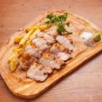 岩中豚 バラ肉のグリル