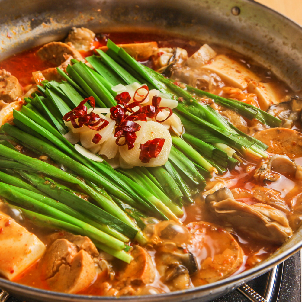 冬の味覚 カキとアンキモのカプサイシン鍋