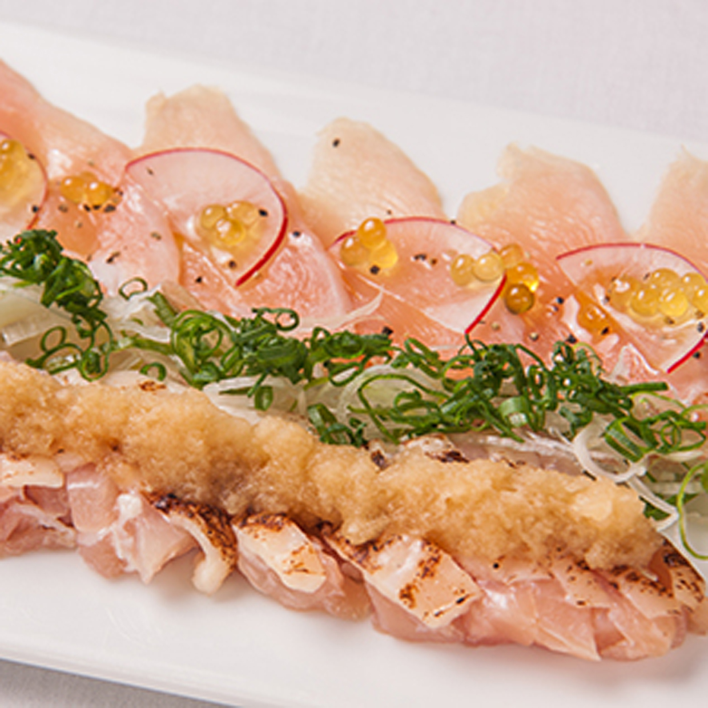 茨城県産つくば鶏の生ハム もも・むね2種盛り