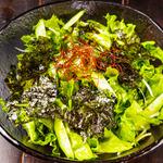 五島チョレギ海苔サラダ