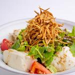 芹と牛蒡の豆富サラダ