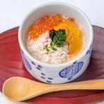 蟹と雲丹の海鮮茶碗蒸し