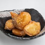 さつま芋の天ぷら 蜂蜜バター