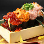 豪華海宝のっけ寿司