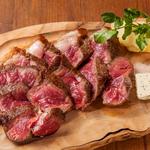 国産牛イチボのステーキ 天然塩で