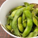 花藻塩の枝豆