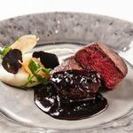 群馬産 赤城牛フィレ肉のグリルステーキ トリュフソース