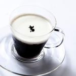 豆挽きエスプレッソのコーヒーゼリー