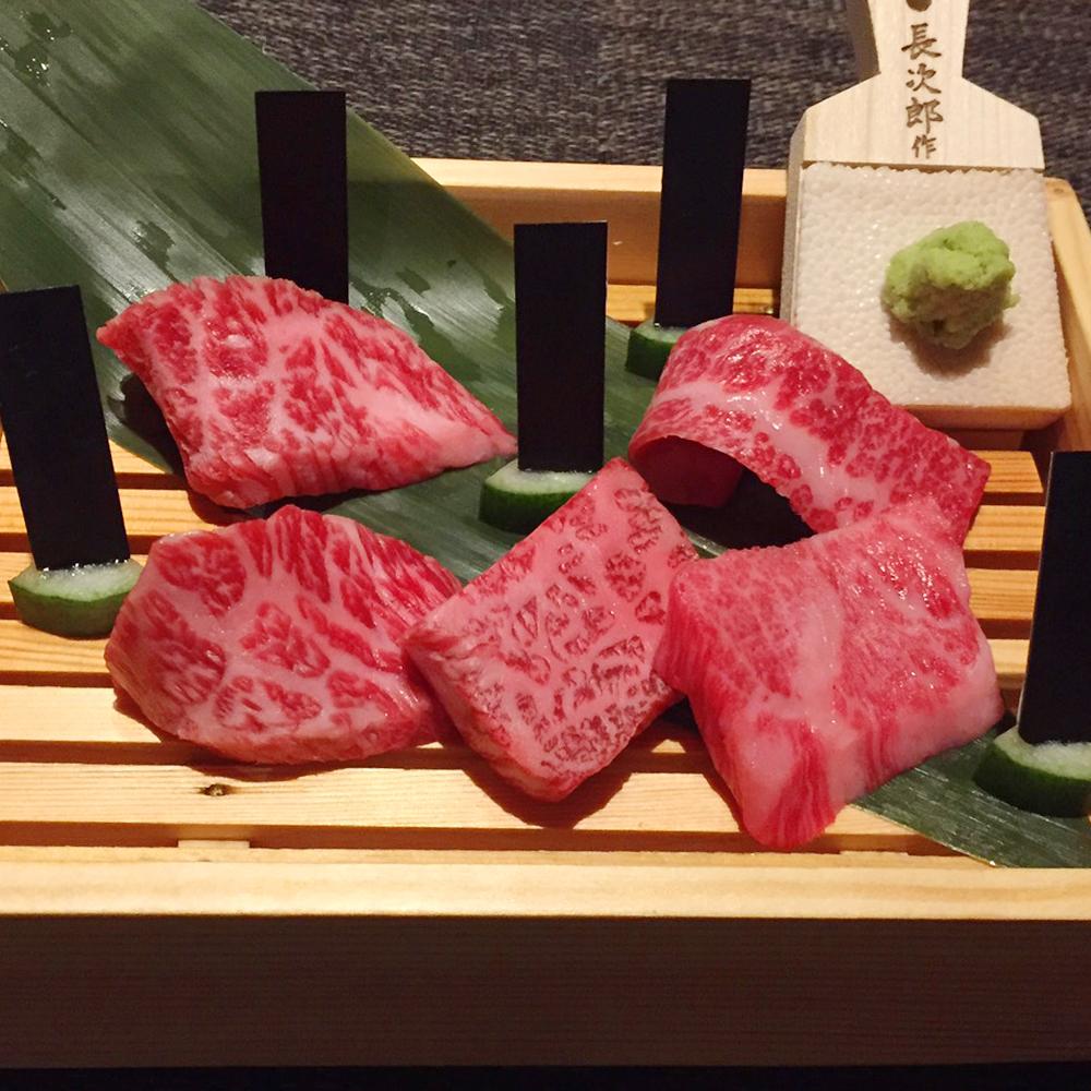 五島牛 黒バラモン5種盛