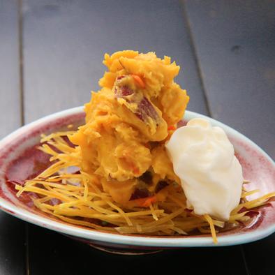 安納芋のポテトサラダ