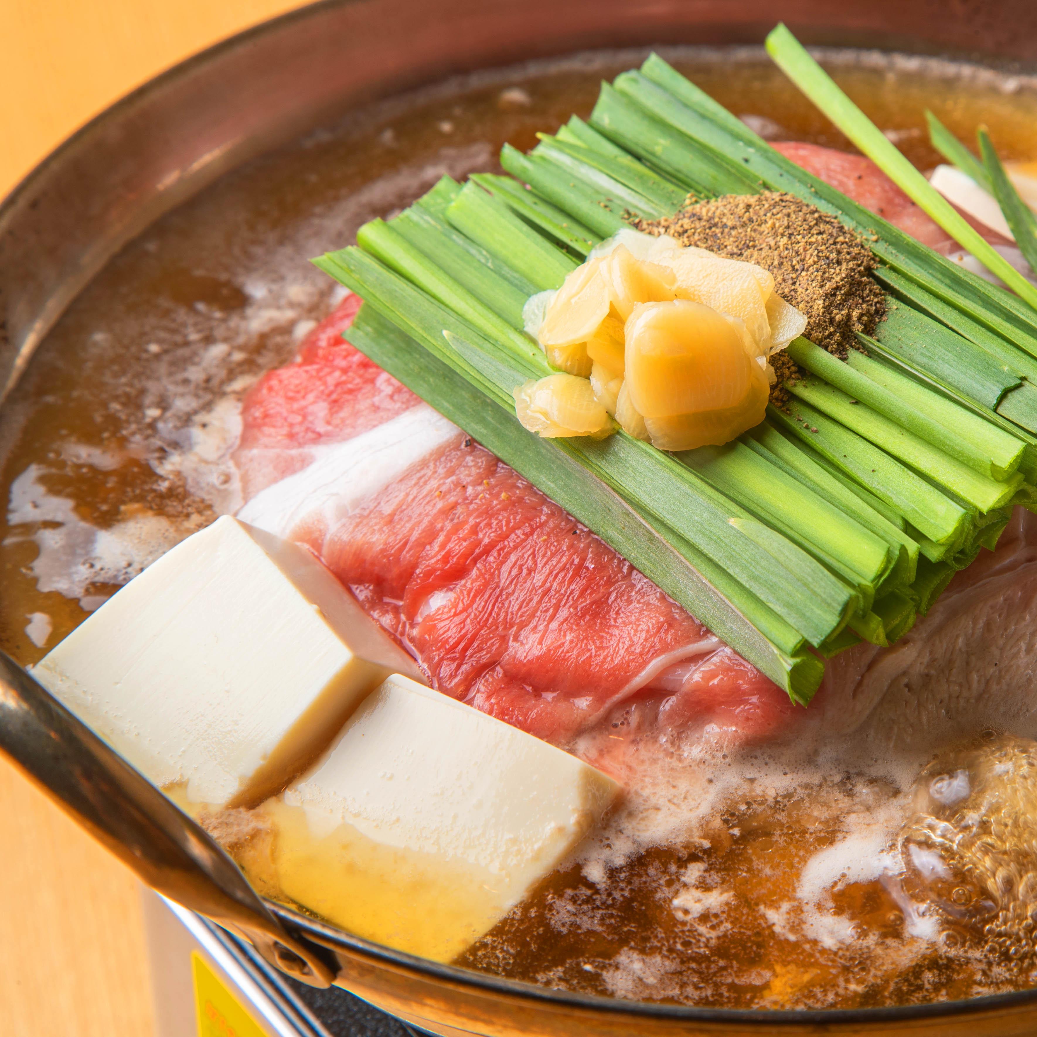 ぶた鍋【霧島黒豚 黒胡椒鍋】