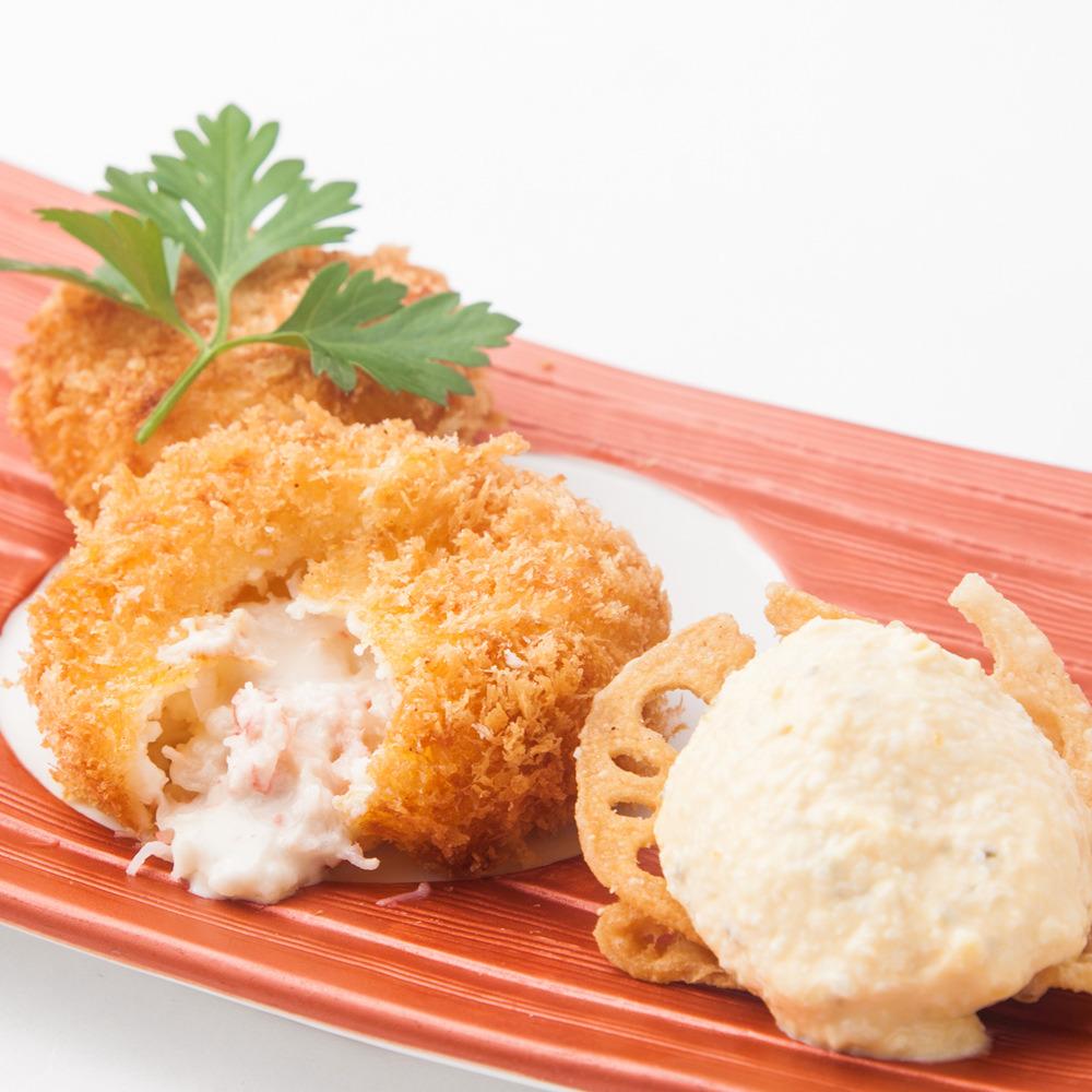 ずわい蟹のクリームコロッケ