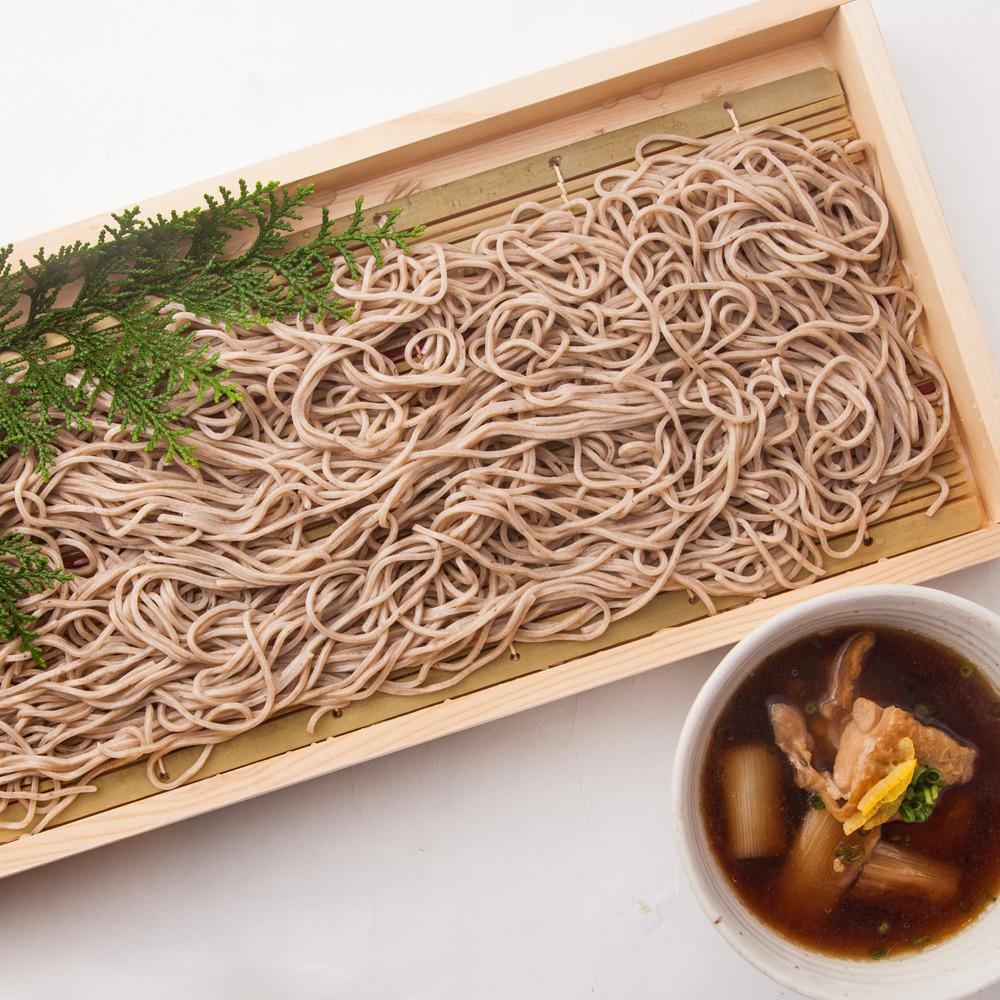 茨城県産つくば鶏のつけ汁蕎麦