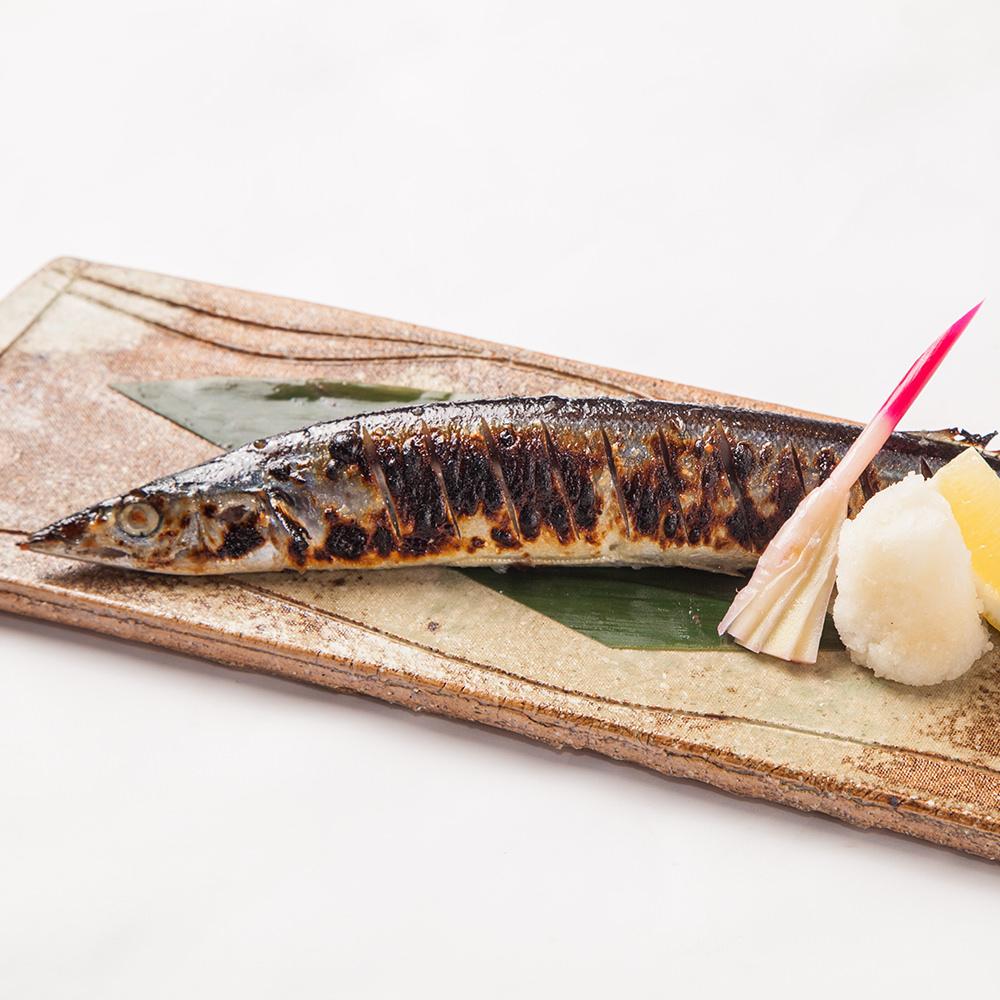 秋刀魚の塩麹焼き