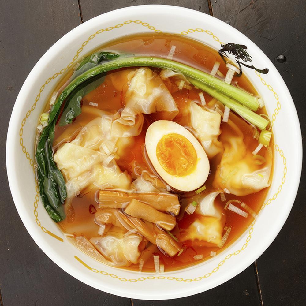 醤油海老ワンタンスープ