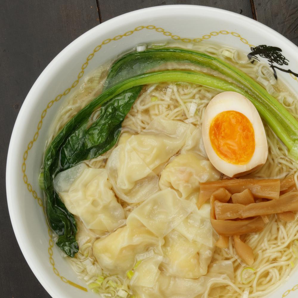 塩海老ワンタン麺