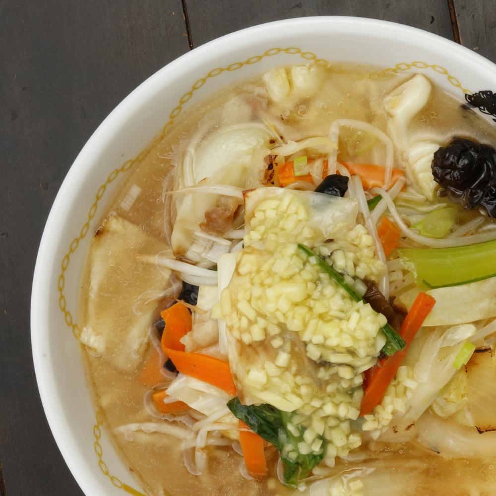 ジンジャー野菜タンメン
