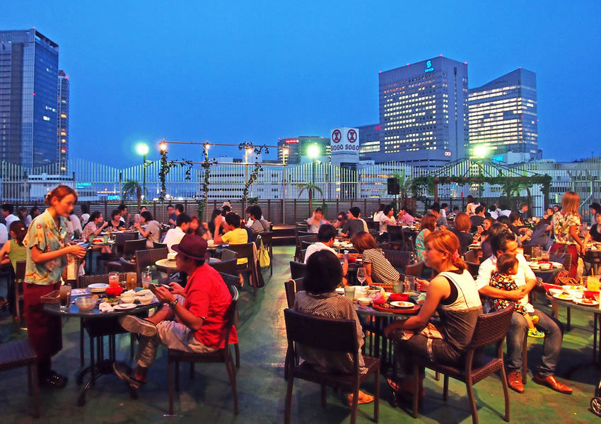 Yokohama Night Market BBQ BEER GARDEN