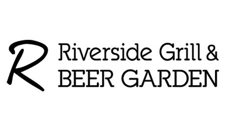 """""""R""""RIVERSIDE GRILL&BEER GARDEN"""