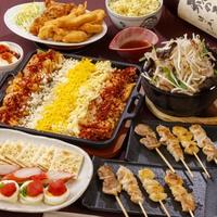 3色チーズダッカルビと唐揚げパーティー