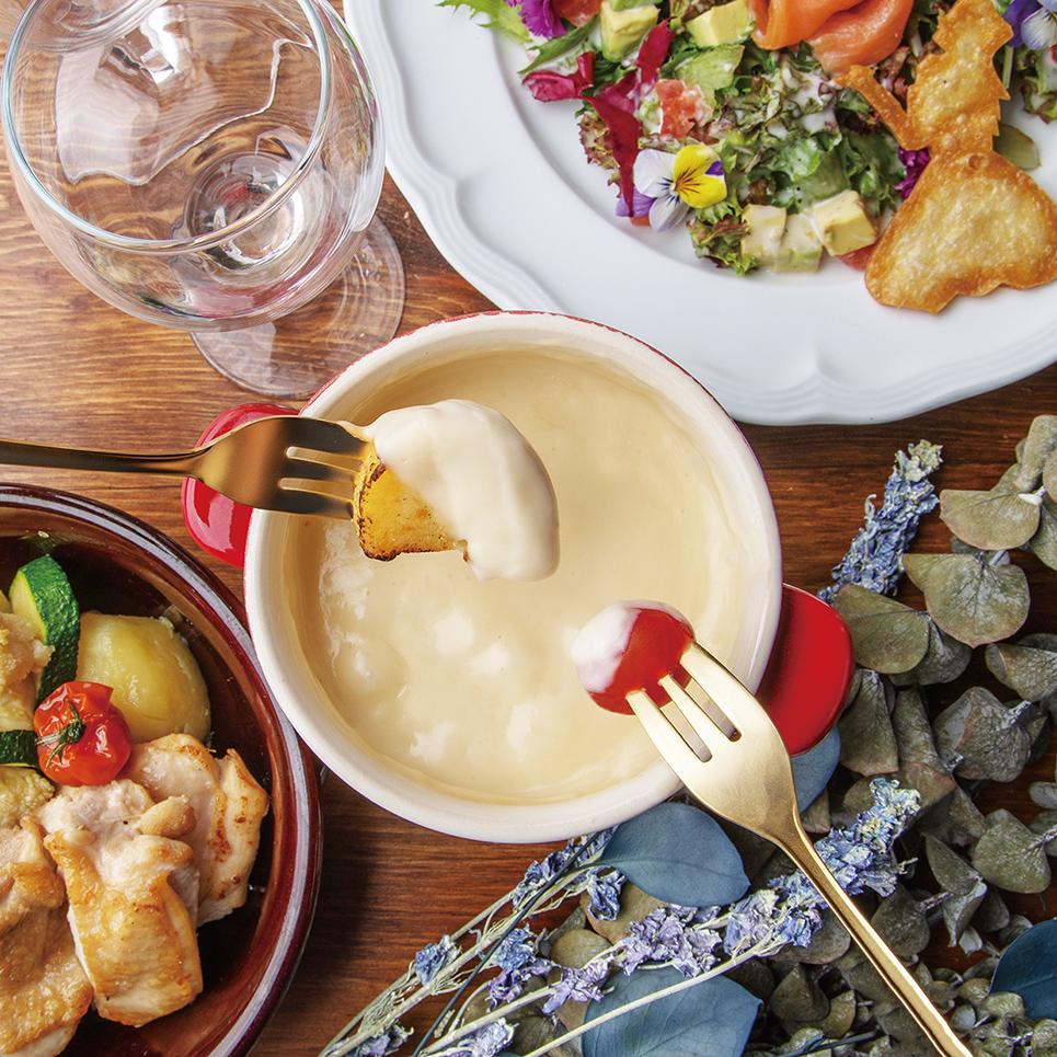 [お料理のみ] フルーツフェスティバル♪選べるパフェ&フロートのスペシャルコース7品