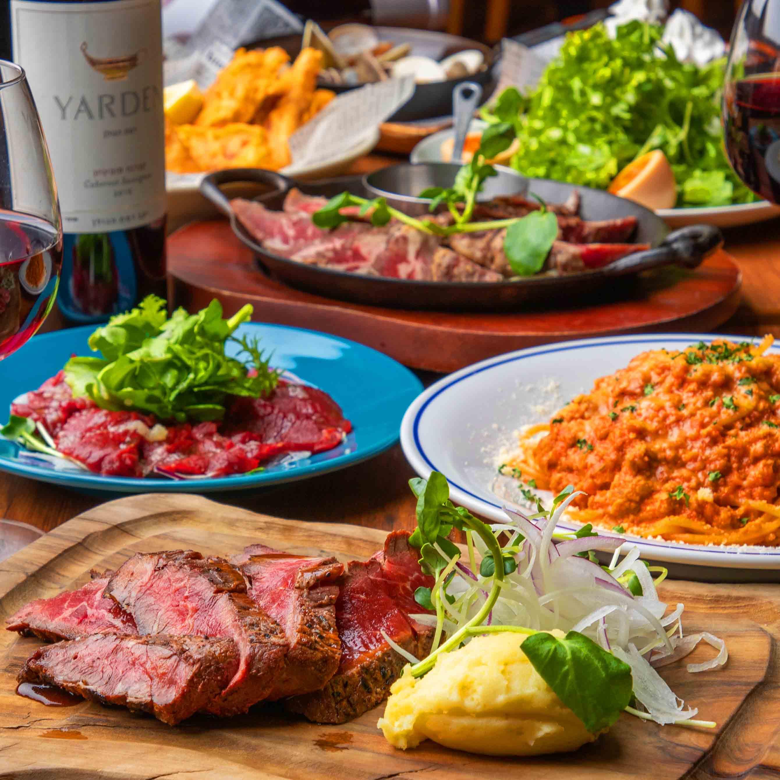 [お料理のみ] 【お気軽料理プラン】メインが選べるコース6品