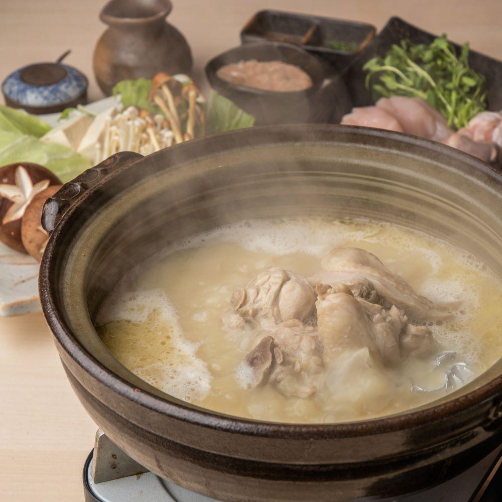 [2時間飲み放題] 選べる焼物と水炊き 極上会席11品