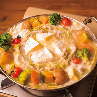 [2.5時間2.5時間飲み放題] 塩バター鍋とラザニアなど9品